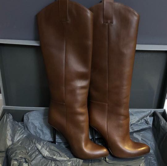 Tom Ford Cognac (Brown) Leather Boots Image 2