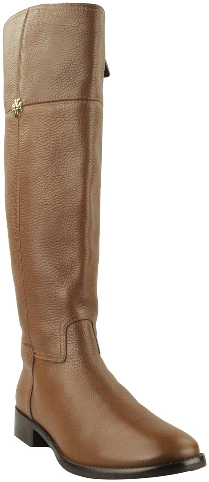 Tory Burch Jolie Brown Jolie Burch Leather Riding Boots/Booties 703680