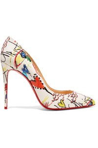 Christian Louboutin Pigalle Follies 100mm Leather multi Pumps