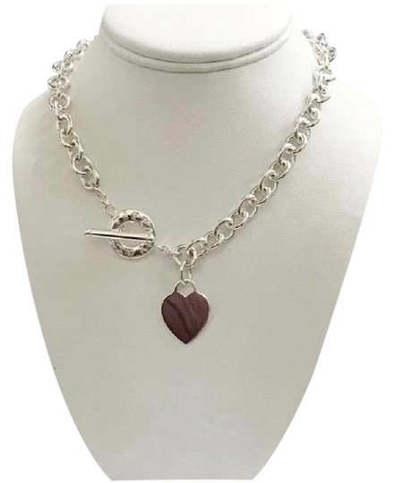 Tiffany And Company Toggle Necklace: Tiffany & Co. Classic Heart Toggle Necklace