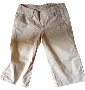 7 For All Mankind Capris Light Khaki