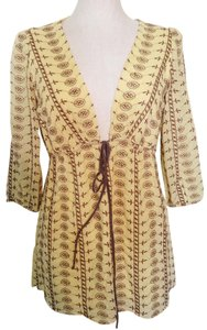 Miguelina Embroidered Coverup Tunic