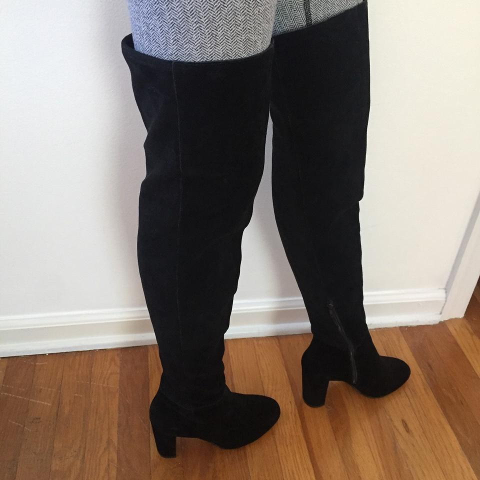 ac31b15f149 Vince Camuto Black Over-the-knee Suede Boots Booties Size US 6.5 Regular  (M