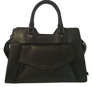 Proenza Schouler Ps11 Ps13 Leather Ps1 Satchel in Black