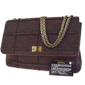 Chanel Made In France Satchel in brown
