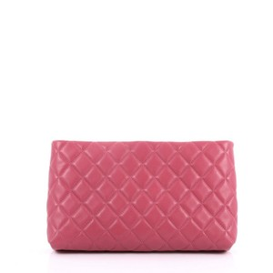 2b87421c0e5569 Added to Shopping Bag. Chanel Lambskin pink Clutch. Chanel Clutch Timeless  Clutch Square Timeless Quilted ...