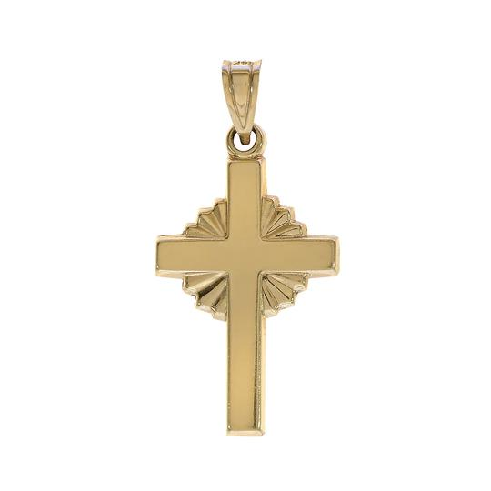Preload https://img-static.tradesy.com/item/22516794/avital-and-co-jewelry-yellow-gold-14k-stamped-ma-cross-pendant-0-0-540-540.jpg