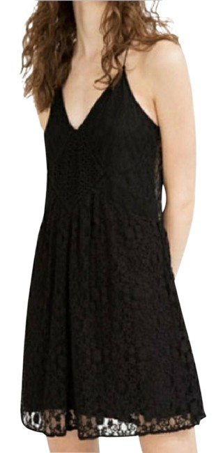 Preload https://img-static.tradesy.com/item/22517133/zara-black-woman-s-short-casual-dress-size-4-s-0-3-650-650.jpg
