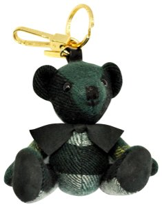 Burberry Thomas House Check Cashmere Bear Keychain Color: