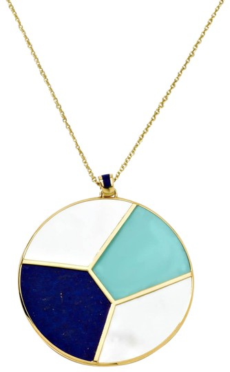 Preload https://img-static.tradesy.com/item/22517721/ippolita-blue-polished-rock-candy-mosaic-round-pendant-18207-necklace-0-1-540-540.jpg
