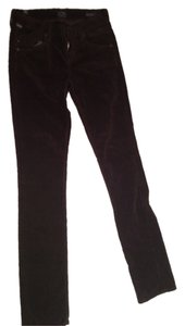 Citizens of Humanity Skinny Pants Brown velvet