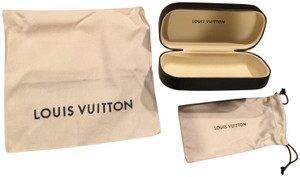 Louis Vuitton Louis Vuitton Authentic Sun Glass Cover & 2 Dust bags