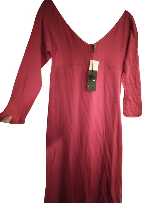 Item - Red Cotton Mid-length Casual Maxi Dress Size 8 (M)