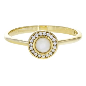 Ippolita Lollipop Mini Ring Mother Of Pearl With Diamonds (18209)