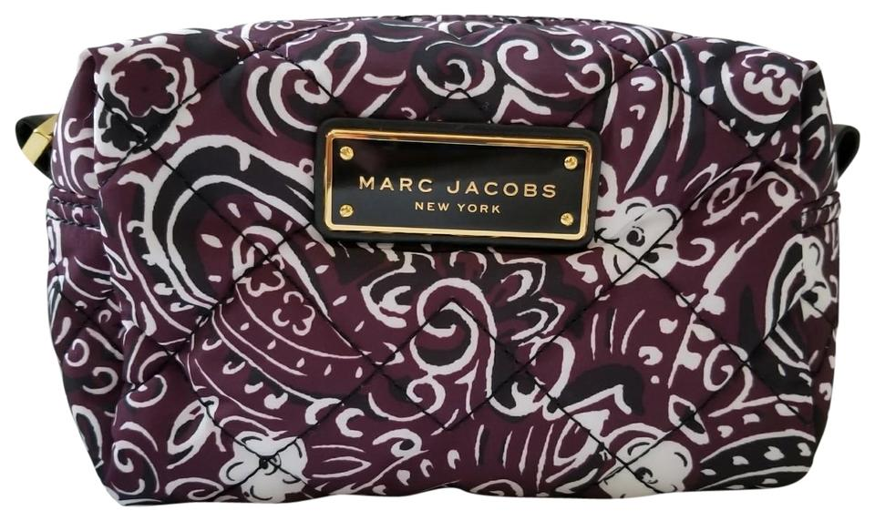 Marc By Jacobs New Quilted Paisley Fl Cosmetic Case Large Makeup Bag