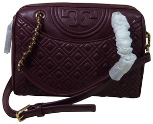 Tory Burch Satchel in Burgundy
