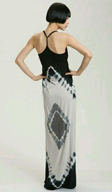 Black & Nude Tie Dye Maxi Dress by Young, Fabulous & Broke Halter Ombre Yfb Beach Summer Sold Out Shopbop Revolve Neiman Marcus