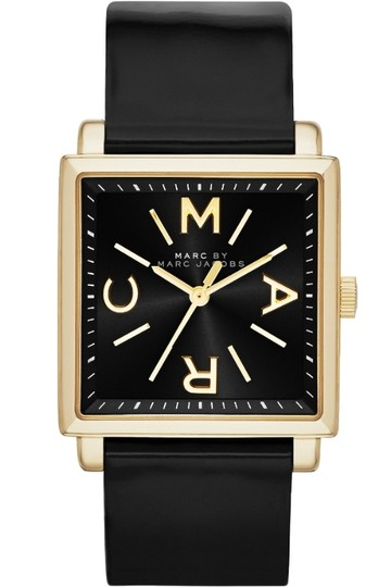Preload https://item5.tradesy.com/images/marc-by-marc-jacobs-marc-by-marc-jacobs-truman-gold-tone-black-leather-watch-2251864-0-0.jpg?width=440&height=440