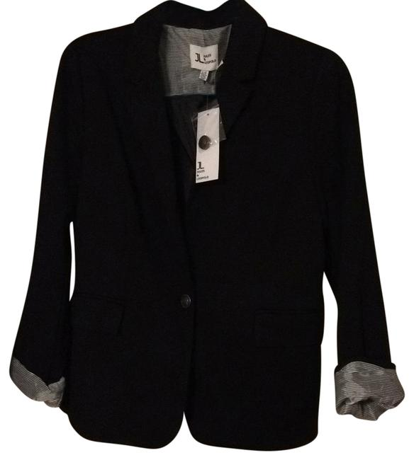 Item - Black with White Trim Blazer Size 12 (L)