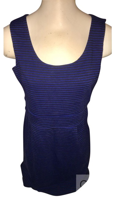 Preload https://img-static.tradesy.com/item/22518892/lapis-blue-black-slvlss-mid-length-workoffice-dress-size-8-m-0-1-650-650.jpg