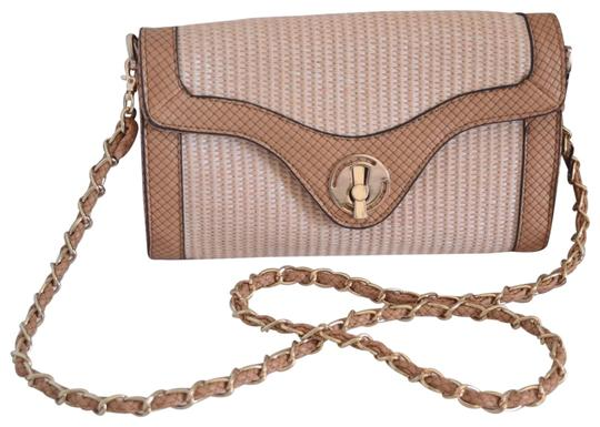 Preload https://img-static.tradesy.com/item/22518900/urban-expressions-vegan-beige-and-gold-faux-leather-cross-body-bag-0-1-540-540.jpg