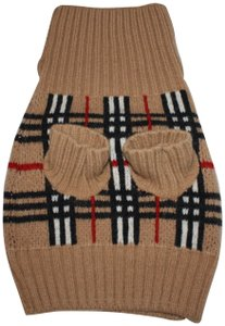 Burberry Burberry Signature Plaid Wool Dog Sweater - Large