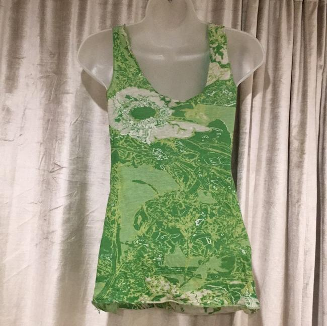 A|X Armani Exchange Top Green, White