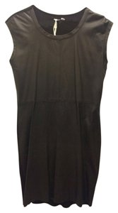 Max and Cleo Designer Faux Leather Shift Dress