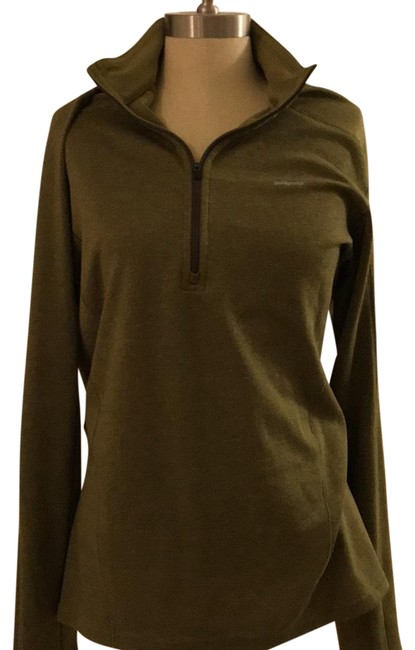 Item - Olive Capilene3 Midweight Activewear Top Size 10 (M)