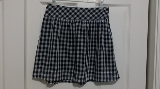 Gap Mini Skirt White and Blue