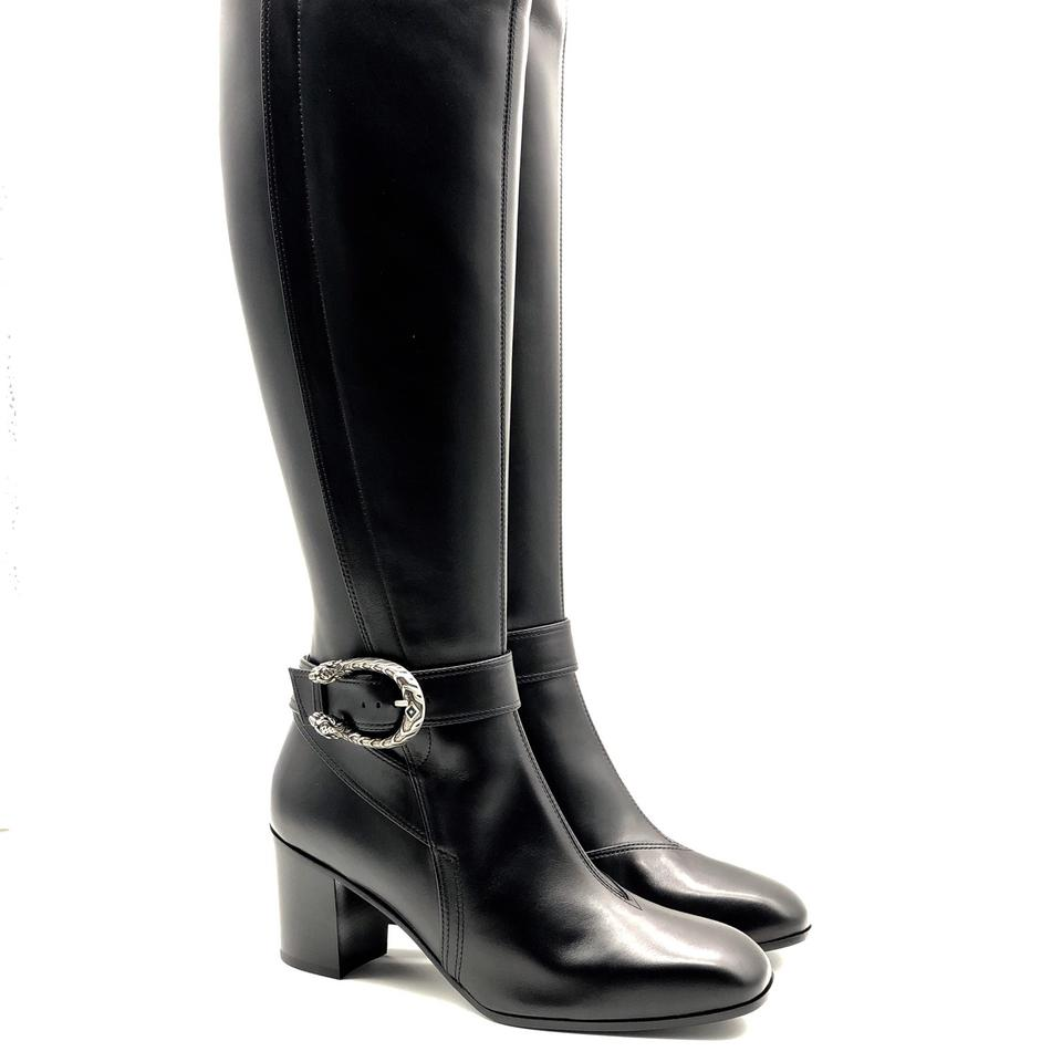 9c8f71fc97f Gucci Dionysus - Leather Knee Boots/Booties Size EU 35.5 (Approx. US 5.5)  Regular (M, B) - Tradesy
