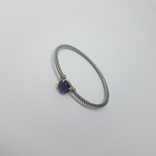 David Yurman Sterling silver David Yurman Black Orchid Chtelaine bracelet