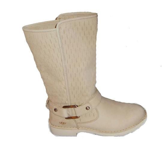 Ugg Australia Tan 12 Quot Tall Leather Buckle Boots Booties