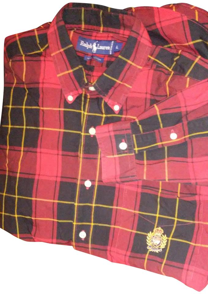 eb8ef9242a9b Ralph Lauren Red and Black Men s