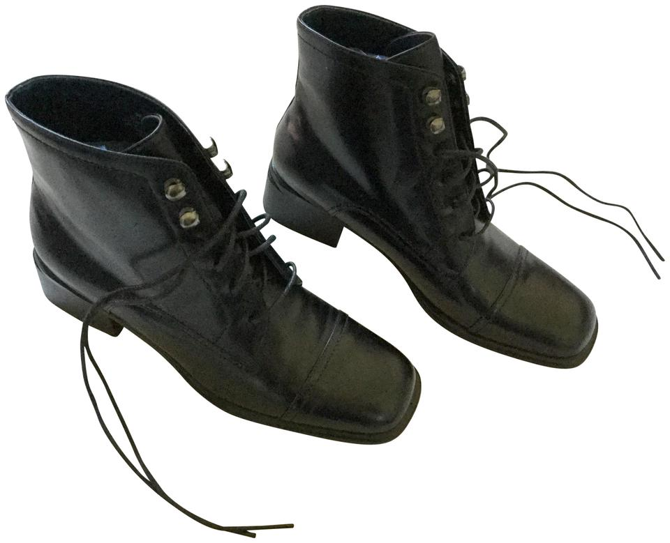 f034e2761d5de Crazy Horse by Liz Claiborne Black  reserved For Ali  New Lace-up Ankle  Boots Booties