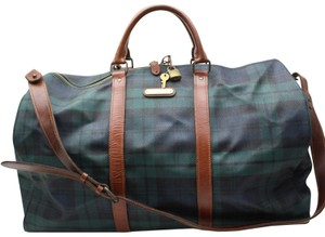 0393d1f18fd5 Polo Ralph Lauren Keepall Bandouliere Duffle Boston Green Travel Bag