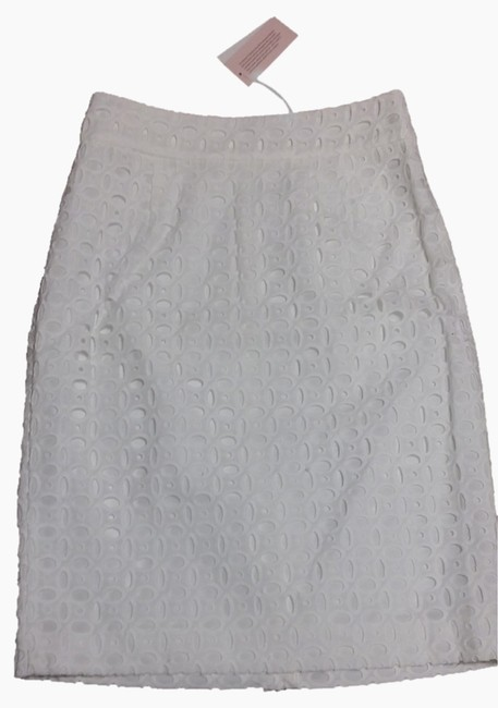 Banana Republic Skirt White