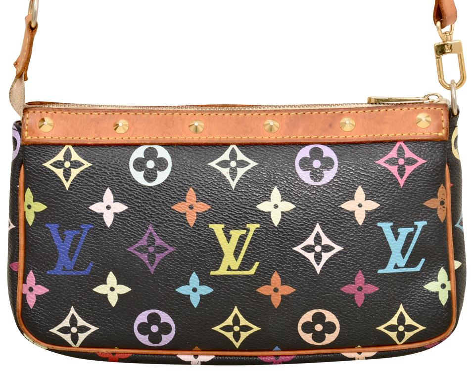 4f083e0184f7 Louis Vuitton Monogram Pochette Pouch Clutch Shoulder Bag Image 0 ...