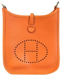 Herms Evelyne Tpm Togo Cross Body Bag