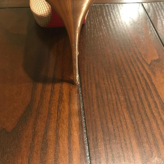 Christian Louboutin Beige / Nude / Gold Pumps