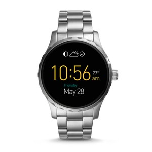 Fossil Fossil Gen 2 Q Marshal Siver Tone Stainless Steel Smartwatch FTW2109