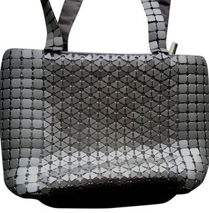MARLOW Vintage Metallic Satchel in SILVER
