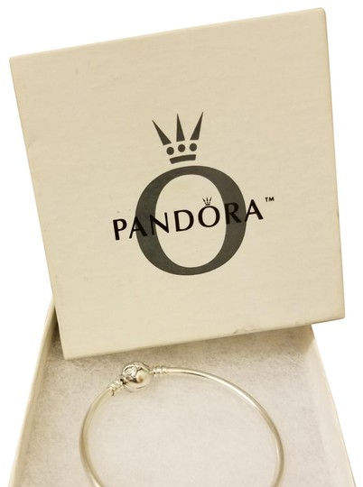 PANDORA 6.3 inches /16 centimeters smallest size Pandora bangle special edition preowned size small