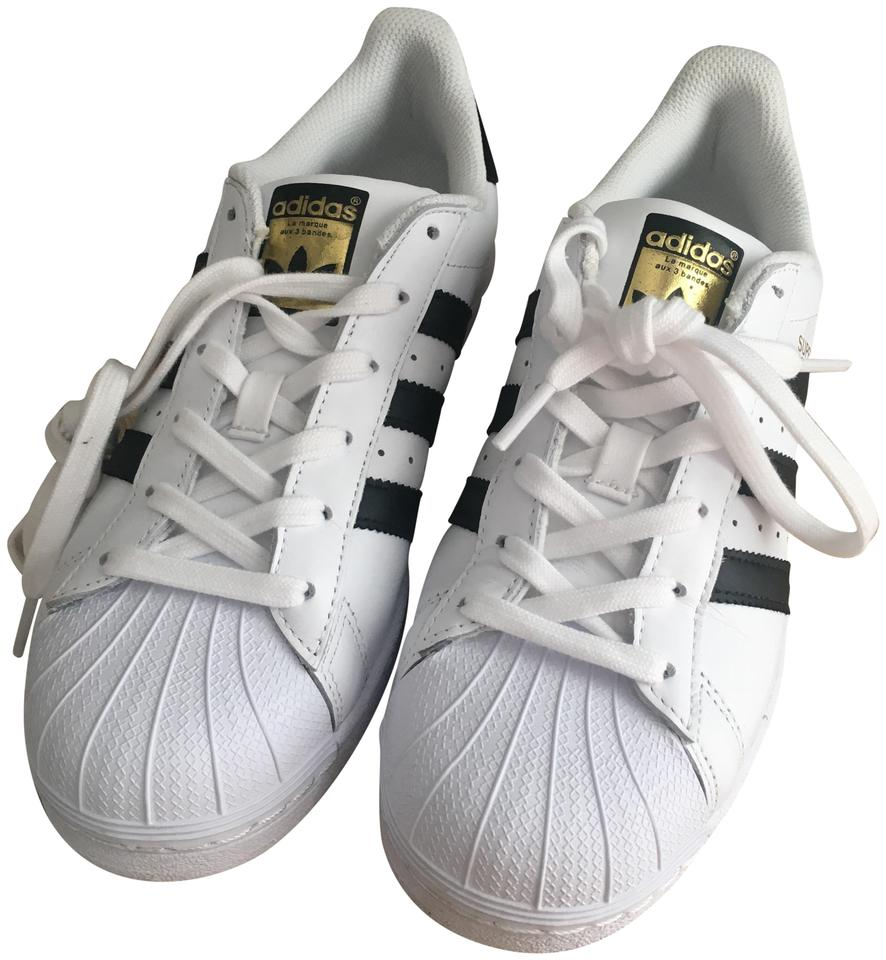 In the promise of the adidas Superstar W adidas SUPERSTAR W white black WHITEBLACK C77153 mens Womens sneakers arrival report view