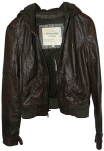 Abercrombie & Fitch Chocolate Jacket