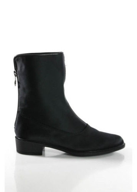 Item - Black Round Toe Ankle Boots/Booties Size US 5.5 Narrow (Aa, N)