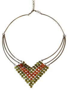 Vintage Vintage Mesh Statement Necklace