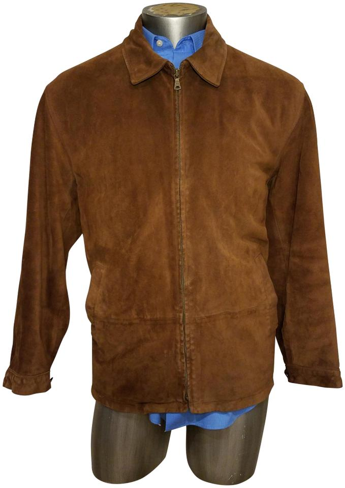 70a56814f8f9e4 Polo Ralph Lauren Brown Suede Vintage Jacket Size 14 (L) - Tradesy