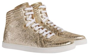 Gucci metallic gold Athletic