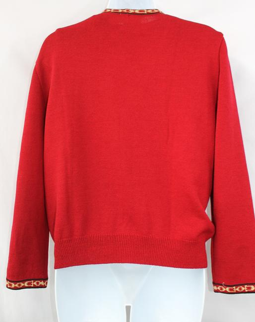St. John Collection Knit Twinset Cardigan